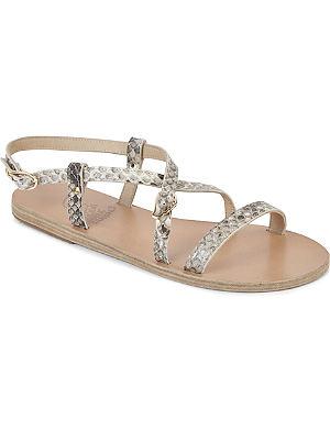 ANCIENT GREEK SANDALS Sofia exotic sandals