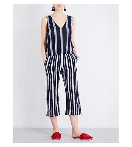 LEMLEM Edna cotton jumpsuit (Navy