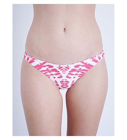 MIKOH Miyako classic bikini bottoms (Wave koi