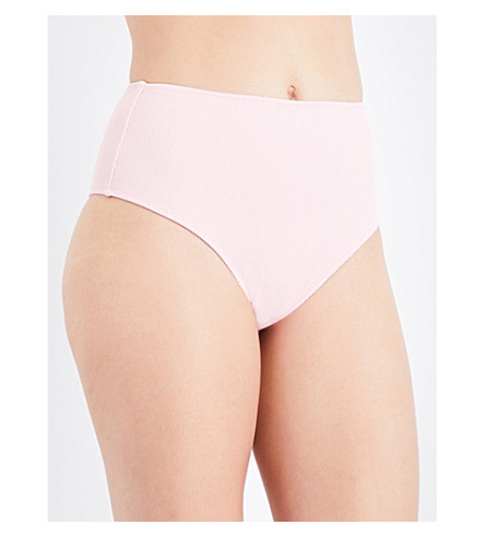 SOLID & STRIPED The Beverly bikini bottoms (Petal+rib