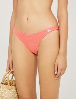 Rachel mid-rise bikini bottoms
