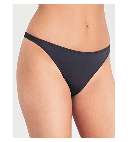 SOLID & STRIPED Solid & Striped x RE/DONE Hollywood bikini bottoms (Black