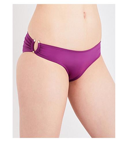 LAZUL Cyma bikini bottoms (Aubergine
