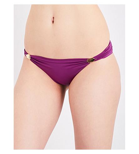 LAZUL Maia bikini bottoms (Aubergine