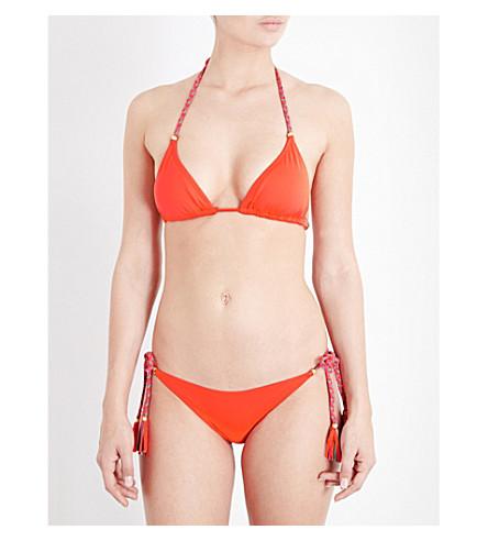 LAZUL Nubia triangle bikini top (Ghiaccolo