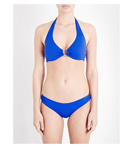 LAZUL Yasmin halterneck bikini top (Babylon