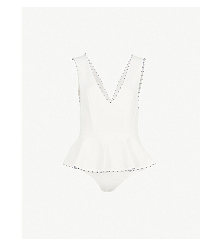 MARYSIA Maillot peplum swimsuit (Coconutmirtillo