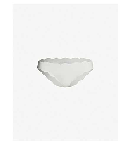 MARYSIA Antibes scalloped bikini bottoms (Coconut