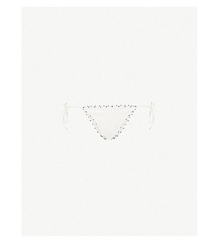 MARYSIA French Knot bikini bottoms (Coconut+mirtillo
