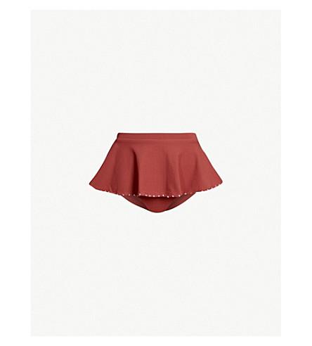 MARYSIA French Gramercy high-rise bikini bottoms (Antelope+lavender