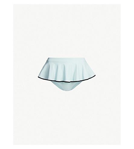 MARYSIA Piana bikini bottoms (Pool+black