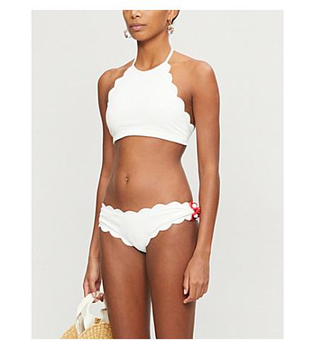 MARYSIA Mott halterneck bikini top (Cocount