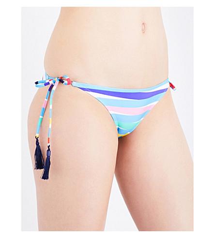 EMMA PAKE Rainbow Stripe bikini bottoms (Rainbow+stripe