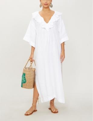 Inez linen dress