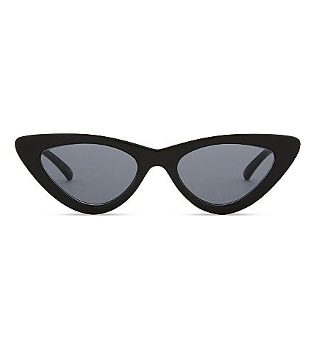 LE SPECS The Last Lolita cat eye-frame sunglasses (Black