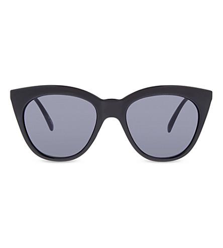 LE SPECS Halfmoon Magic cat-eye sunglasses (Black