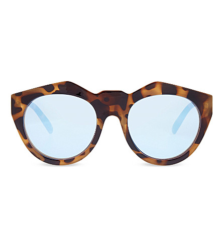 LE SPECS Neo Noir sunglasses (Milky tort