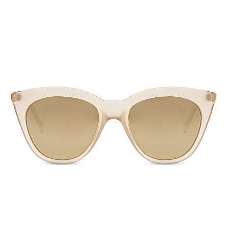 LE SPECS Magic square-frame sunglasses (Raw sugar