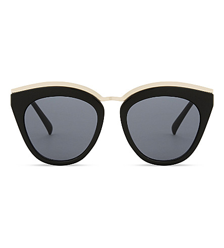 LE SPECS Eye slay cat-eye sunglasses (Black
