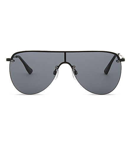 LE SPECS The King aviator sunglasses (Matte+black