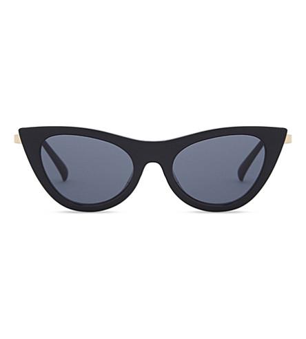 LE SPECS Enchantress sunglasses (Black+smoke