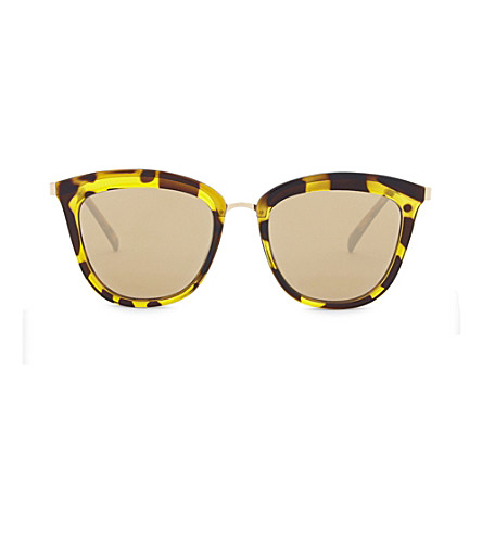 LE SPECS Caliente cat-eye sunglasses (Syrup+tort+copper