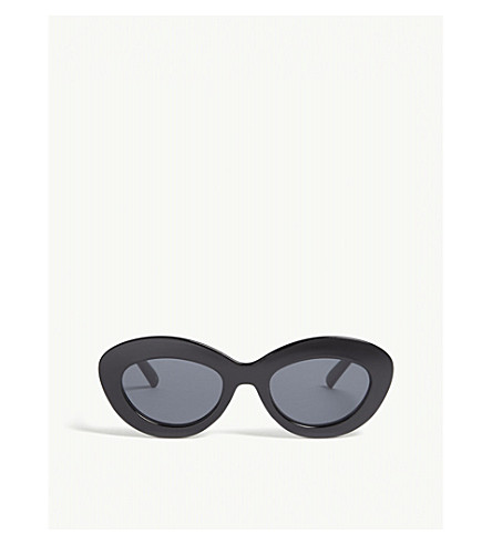 LE SPECSFluxus 猫眼太阳镜 (黑色