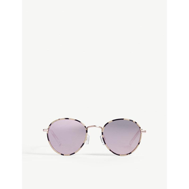 LE SPECS Zephyr deux round-frame sunglasses