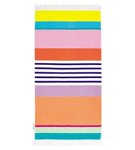 SUNNYLIFE Havana printed velour towel (Havana