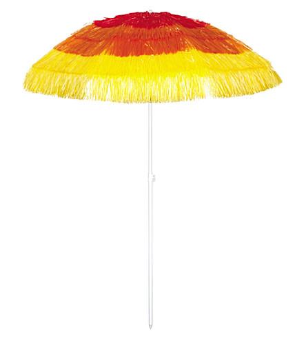 SUNNYLIFE Carnival tasselled umbrella (Sundowners