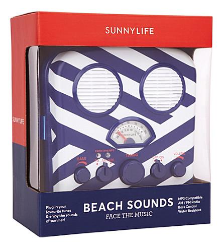SUNNYLIFE Montauk beach sounds suitcase (Montawk