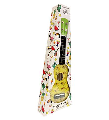 SUNNYLIFE x Tiffany Cooper Pineapple ukulele (Yellow