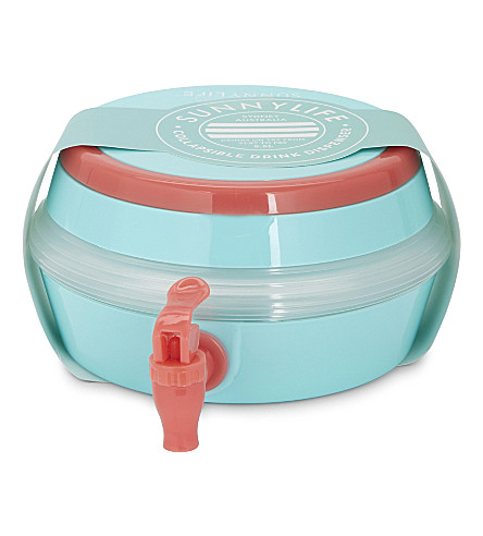 SUNNYLIFE Collapsible drink dispenser (Blue