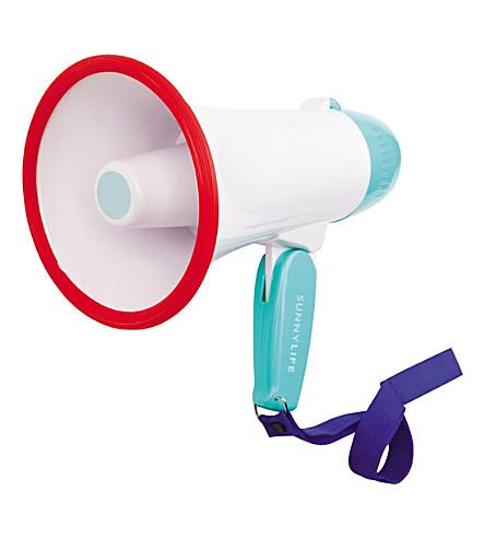 SUNNYLIFE Lifesaver megaphone (White