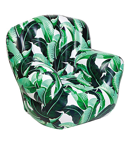 SUNNYLIFE Banana Palm inflatable chair (Green