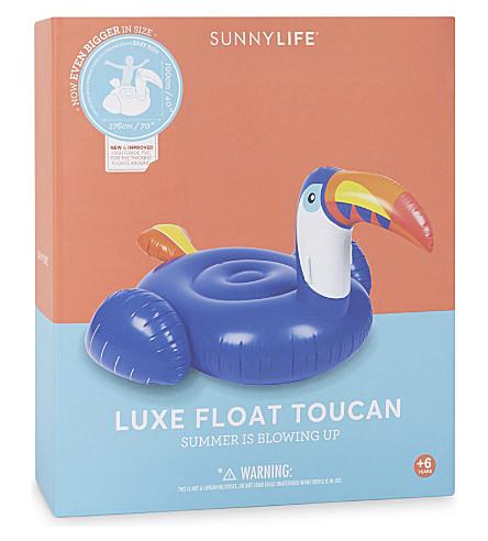 SUNNYLIFE Luxe toucan float (Blue