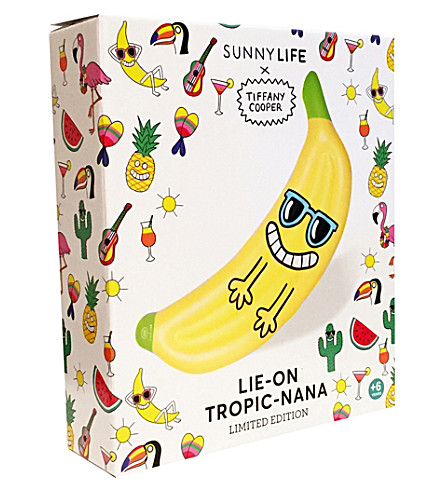 SUNNYLIFE Tiffany Cooper Tropic-Nana beach float (Yellow