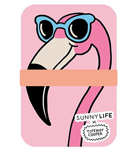 SUNNYLIFE x Tiffany Cooper Flamingo eco-friendly lunch box (Pink