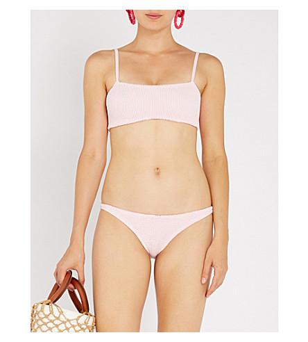 HUNZA G Gigi bikini set (Baby+pink
