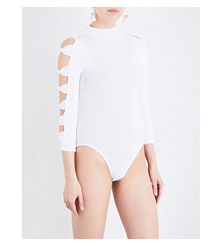 HUNZA G Judy seersucker body (White