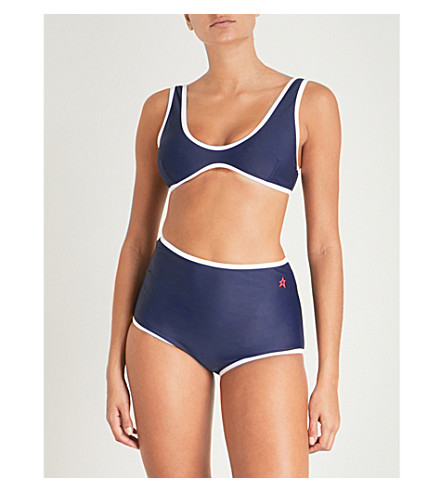 PERFECT MOMENT High-waist bikini (Navy