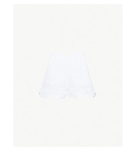 PAPER LONDONFraise 棉短裤 (白色