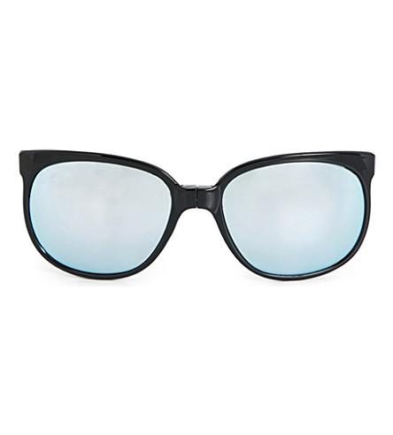 SUNPOCKET Sport D-frame sunglasses (Shiny+black