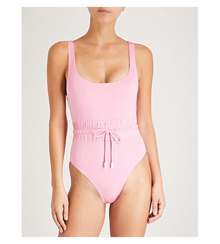 LES GIRLS LES BOYS Track swimsuit (Bubblegum