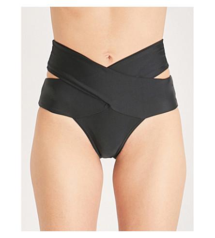 ALEXANDRA MIRO Tara bikini bottoms (Black