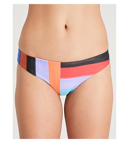 MARA HOFFMAN Zoa bikini bottoms (Blk+multi