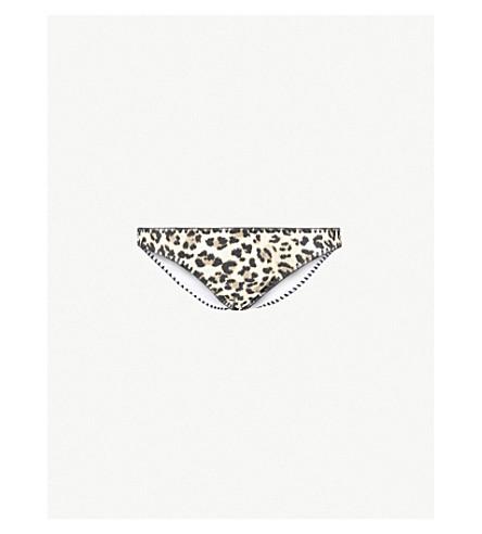 TIGERLILY Mantra Tara bikini bottoms (Snow+leopard