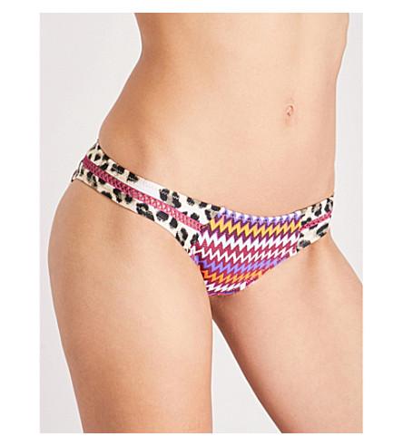 TIGERLILY Heera patchwork bikini bottoms (Patchwork