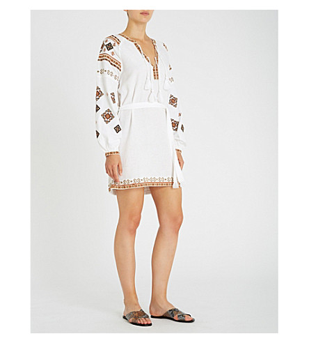 TIGERLILY Azar cotton dress (White