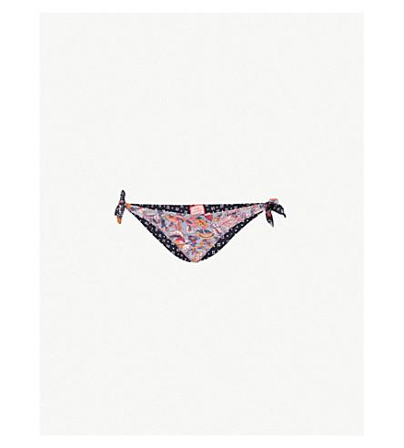 TIGERLILY Paradis reversible bikini bottoms (Patchwork